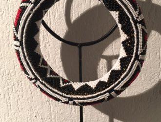 Bijou en perles d'Afrique du Sud