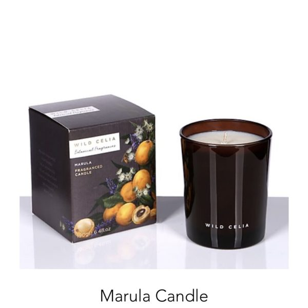 Marula Candle -WILD CELIA- ASBYAS
