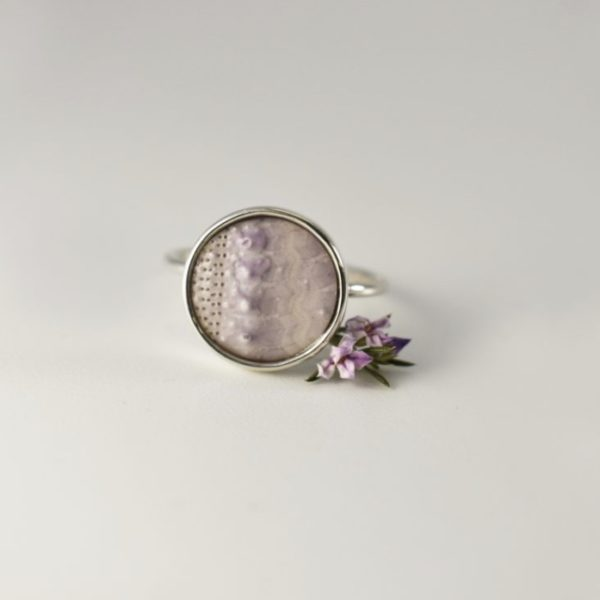 Purple Sea Urchin Ring 2 - KINKEL ASBYAS