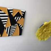 RWANDA ART DESIGN par ASBYAS COMBO MON BEAU COUSSIN ET JUJUHAT SOLEIL JAUNE