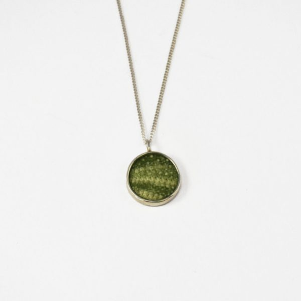 Small Green Sea Urchin Necklace - KINKEL ASBYAS