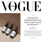 VOGUE article presse kudu cosmetica -asbyas