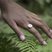 White Sea Urchin Ring 2 - KINKEL ASBYAS