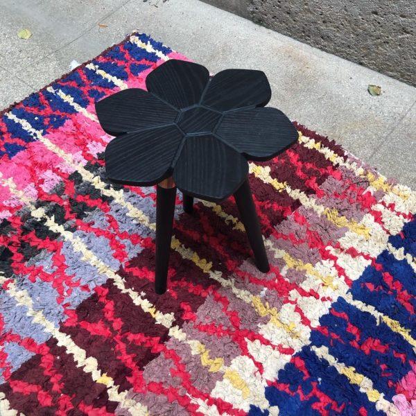 photo 1 Table florale noire CAPE TOWN John Vogel ASBYAS DESIGN afrique du sud PARIS