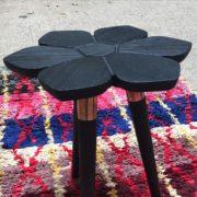 photo 2 Table florale noire détail pied CAPE TOWN John Vogel ASBYAS DESIGN afrique du sud PARIS