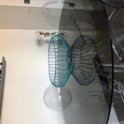 Corbeille à Fruits design métal bleu Indigi Design ASBYAS Afrique du Sud Paris photo 3
