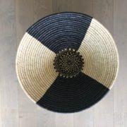 Corbeille Black and White Craft du Design Africain contemporain Handmade 1