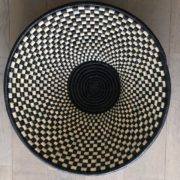 Corbeille Black and White Craft du Design Africain contemporain Handmade 2