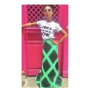 OFFRE ASBYAS PARIS AFRICA YOUR TIME IS NOW TEE-SHIRT BLANC LETTRES NOIRES 5